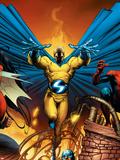 New Avengers No.2 Cover: Sentry Plastic Sign by Trevor Hairsine