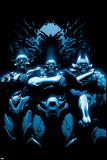 Avengers 18 Cover: Skrulls Signe en plastique rigide par Leinil Francis Yu