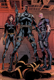 Secret Avengers 14 Group: Black Window, Nick Fury, Hawkeye Plastic Sign by Butch Guice