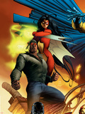 New Avengers No.5 Cover: Cage, Luke and Spider Woman Plastic Sign