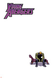 Young Avengers 9 Cover: Hulkling Plastic Sign by Jamie McKelvie
