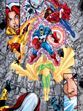 Avengers No.12 Group: Vision Wall Decal by George Perez