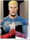 Ultimate Avengers 3 No.1: Captain America Poster by Steve Dillon