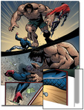 Young Avengers No.8 Group: Mr. Hyde, Patriot and Young Avengers Prints by Andrea Di Vito