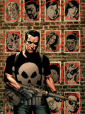 House Of M: Avengers 3 Cover: Punisher Plastic Sign by Mike Perkins