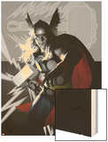 Wolverine Avengers Origins: Thor No.1 and The X-Men No.2 Wood Print by Al Barrionuevo