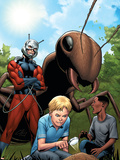 Marvel Adventrues Super Heroes No.10 Cover: Ant-Man Plastic Sign by Clayton Henry