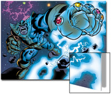 Avengers & The Infinity Gauntlet No.1: Thanos Stretching Prints by Brian Churilla