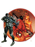 Steve Rogers: Super-Soldier Annual No.1 Cover Wall Decal by Black Frog