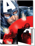 Captain America No.37 Cover: Captain America Posters by Jackson Guice