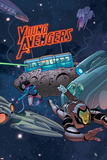 Young Avengers 7 Cover: Miss America, Marvel Boy Wall Decal by Jamie McKelvie