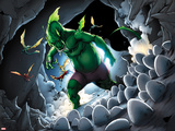 Avengers vs. Pet Avengers No.3: Fin Fang Foom Standing Plastic Sign by Ig Guara