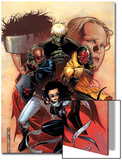 Young Avengers No.9 Cover: Bishop, Kate, Hulkling, Vision and Patriot Prints by Jim Cheung