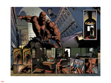 New Avengers No.23: Panels with Luke Cage Plastic Sign by Mike Deodato
