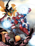 The Mighty Avengers No.32 Cover: Iron Patriot Plastic Sign by Khoi Pham