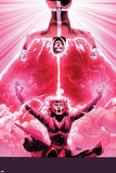 Uncanny Avengers 9 Cover: Rogue, Scarlet Witch Plastic Sign by John Cassaday