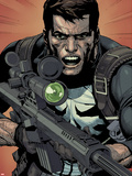 Ultimate Avengers vs. New Ultimates No.3: Punisher Plastic Sign by Stephen Segovia