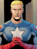 Ultimate Avengers 3 No.1: Captain America Plastic Sign by Steve Dillon