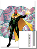 Young Avengers Presents No.4 Cover: Vision Print by Jim Cheung