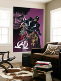 New Avengers 8 Cover: Medusa, Black Bolt, Lockjaw, Gorgon, Triton, Crystal, Karnak, Maximus Wall Mural by Mike Deodato