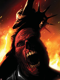Captain America No.614 Cover:  Red Skull Screaming Wall Decal by Marko Djurdjevic