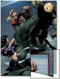 Young Avengers No.8 Group: Mr. Hyde, Bishop, Kate, Hulkling and Young Avengers Prints by Andrea Di Vito