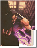 New Avengers Annual No.1: Wonder Man Screaming with Energy Wood Print by Gabriele DellOtto