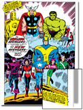 Giant-Size Avengers No.1 Group: Iron Man Poster by Don Heck