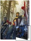 Captain America No.602 Cover: Captain America Prints by Gerald Parel
