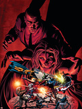 Dark Avengers No.7 Cover: Emma Frost, Osborn and Norman Plastic Sign by Mike Deodato