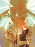 Marvel Two-In-One: X-Men: First Class No.3 Cover: Cyclops, Xavier and Charles Wall Decal by Eric Nguyen