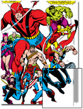 Giant-Size Avengers No.1 Group: Giant Man Posters by John Buscema