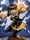 Avengers: Earths Mightiest Heroes No.3: Wasp Flying Plastic Sign by Patrick Scherberger