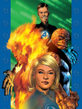 Ultimate Fantastic Four No.1 Cover: Invisible Woman Posters by Bryan Hitch