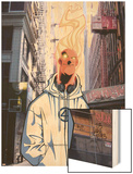 Human Torch V1, No.8 Cover: Human Torch Prints by Skottie Young