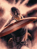 Captain America Theater of War: A Brother in Arms No.1 Cover: Captain America Wall Decal by Mitchell Breitweiser