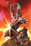 Avengers Arena 15 Cover: Anachronism Plastic Sign by Mike Deodato