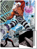 Avengers Academy No.7: Absorbing Man Fighting Poster by Mike McKone