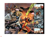 New Avengers Annual No.3 Group: Jewel, Mockingbird and Spider Woman Plastic Sign by Mike Mayhew