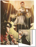 Avengers: The Childrens Crusade No.7: Von Doom and Victor Wood Print by Jim Cheung