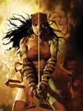 Dark Reign: Elektra No.5 Cover: Elektra Wall Decal by Lee Bermejo