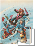 Marvel Adventures The Avengers No.19 Cover: Quicksilver Posters by Tom Grummett