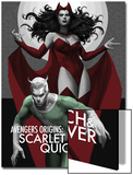 Avengers Origins: The Scarlet Witch & Quicksilver No.1 Cover Posters by Marko Djurdjevic