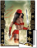Elektra No.33 Cover: Elektra Posters by Tom Fleming
