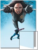 Avengers Academy No.23 Cover: X-23 Flying and Mettle Outstretched Art by Rodin Esquejo