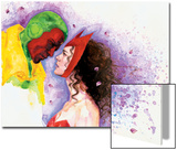 Avengers Finale No.1 Headshot: Vision and Scarlet Witch Prints by David Mack