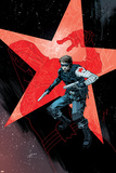 Winter Soldier 17 Cover: Winter Soldier Plastic Sign by Declan Shalvey