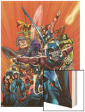 Avengers Finale No.1 Cover: Ant-Man Wood Print by Neal Adams