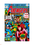 Avengers No.147 Cover: Scarlet Witch Wall Decal by George Perez