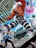 Avengers Academy No.7: Absorbing Man Fighting Plastic Sign by Mike McKone